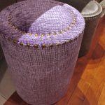 ゴールドを部分的に使い、エレガントな見え方にしたオーダーメイド家具。